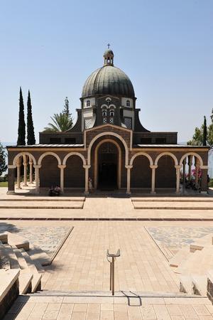 catholic chapel: Roman Catholic chapel at Mount of Beatitudes near Lake Kinneret Israel