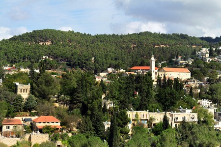 ein: Ein Karem on October 29 2010 in Jerusalem Israel
