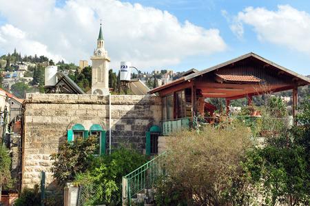 ein: Ein Karem Jerusalem, Israel. Stock Photo