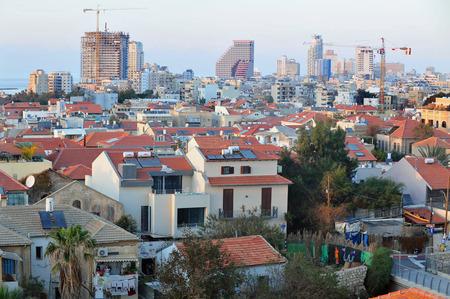 tel aviv: Neve Tzedek neighborhood Tel Aviv Israel