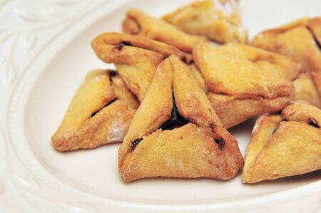 ashkenazi: A hamantash is a pastry in Ashkenazi Jewish cuisine traditionally eaten during the Jewish holiday of Purim