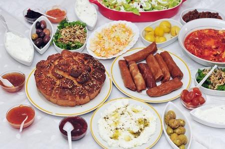 jewish: Classic Yeminite Jewish breakfast