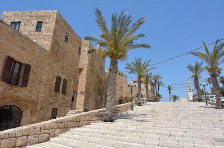 jaffa: Kikar Kedumim street,at the old port of Jaffa in Tel Aviv Jaffa, Israel.
