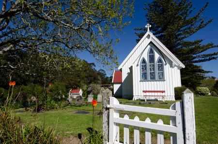 aotearoa: St James Church, Kerikeri, New Zealand. Editorial
