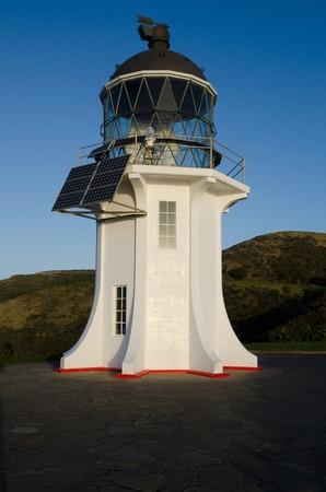 Cape Reinga Lighthouse at the edge of the northland, New Zealand. photo