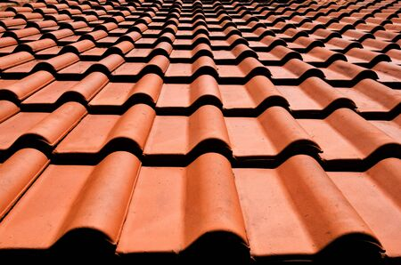 spanish tile: Spanish tile roof.