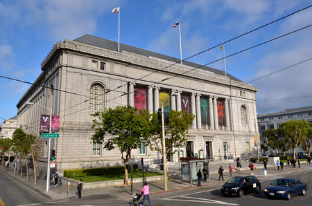 asian art: SAN FRANCISCO, USA - MAY 19 2015:Asian Art Museum of San Francisco California.t has one of the most comprehensive collections of Asian art in the world.