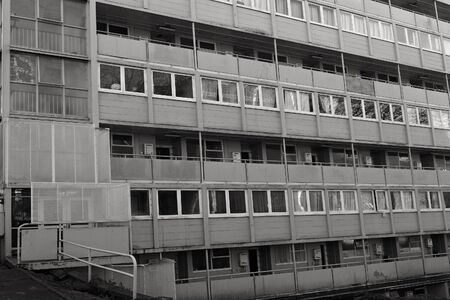 public welfare: AUCKLAND - JUL 21 2015:State Housing apartments in Auckland.For more than a century the state has provided rental homes for tens of thousands of New Zealanders unable to afford a home of their own.