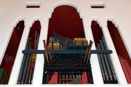 wellington: Wellington Cathedral of St Paul interior.