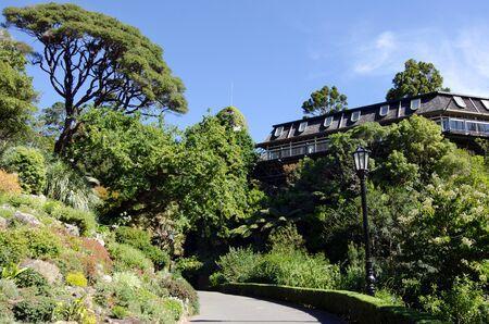 wellington: The botanic Tree Houseat Wellington Botanic Gardens in Wellington New Zealand.