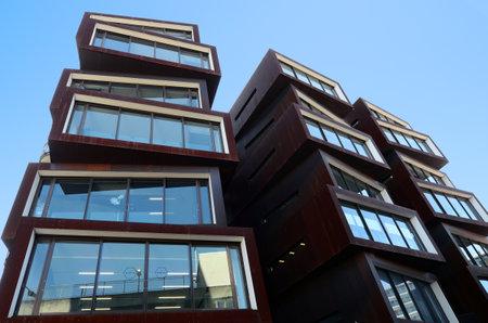 AUCKLAND - 21 août 2015: Ironbank Building.It est un bureau à usage mixte et des commerces de détail à Auckland, Nouvelle-Zélande, décerné 5 étoiles Green Star par le Green Building Council Nouvelle-Zélande.
