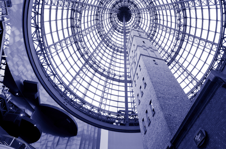 shopping centre: Shot tower at Melbourne Central Shopping Centre.