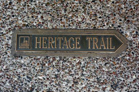 heritage: Brisbane heritage trail in Brisbane Queensland ,Australia.