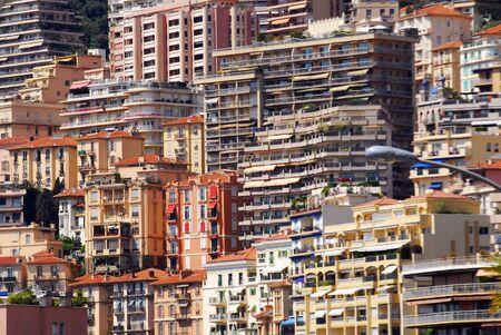 monte carlo: Luxury apartments in Monaco Monte Carlo Stock Photo