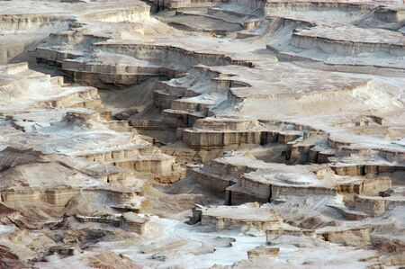 holyland: Landscape of the Judean Desert, Israel.