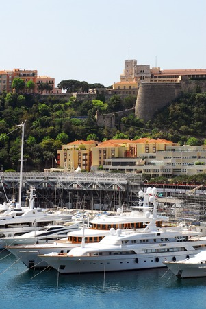 french ethnicity: Princes Palace of Monaco.
