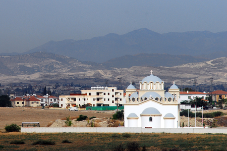 rurale: General view of larnaca, Cyprus.