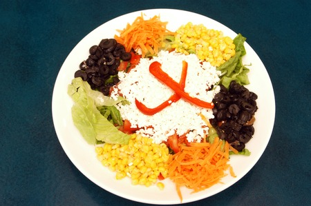 chees: Mix Salad with chees.