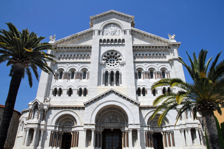 french ethnicity: An old church in Monaco-Ville.
