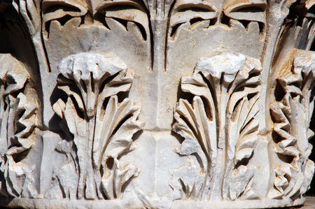 lamentation: Ashkelon National Park, on the southern Mediterranean coast, encompasses history and heritage thousands of years old.  Ashkelon, Israel.