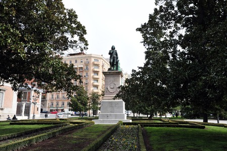 velazquez: The Paseo del Prado in  Madrid Spain.