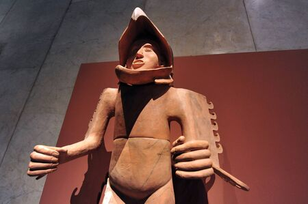 mesoamerica: Archaeological and anthropological artifacts from the pre-Columbian heritage of Mexico in Mexican National Museum of Anthropolog the Mexico City, Mexico.