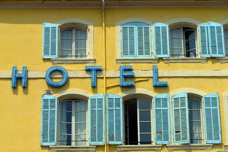 marseille: A Hotel in Marseille in south France.