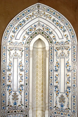 sultan: Muscat, Oman, Sultan Qaboos Grand Mosque Stock Photo