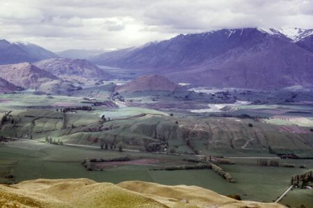 south island new zealand: Landscape view in south island, New Zealand.