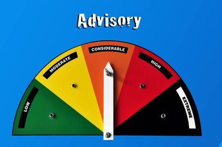 advisory: Avalanche advisory in Mount Cook National Park.