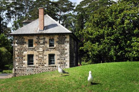 general store: Kerikeri Stone Store, historic museum and period working store. 1832, New Zealands oldest stone building, Kerikeri, Far North District, Northland Region, New Zealand (NZ). Editorial