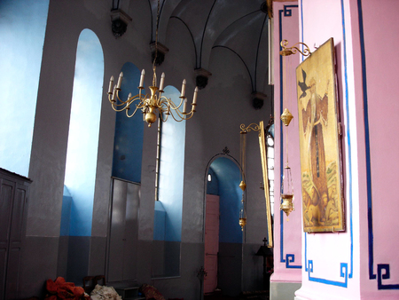 holyland: The Ethiopian Orthodox Tewahedo Church in Jerusalem, Israel.
