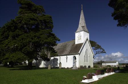 aotearoa: Waimati North Church, Northland, New Zealand.