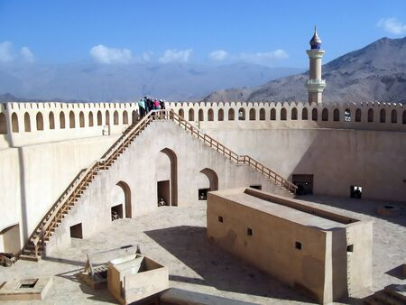 fort: Nizwa Fort in Oman