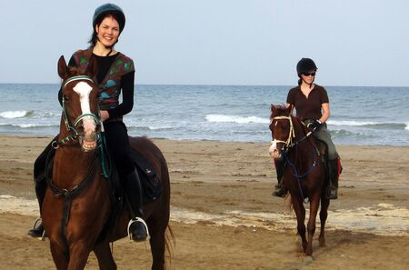 east riding: Horse Riding in Oman in the Middle East.