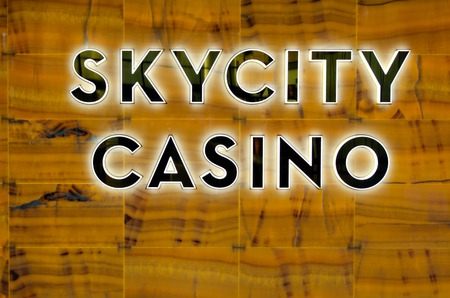nz: AUCKLAND, NZ - MAY 29:Skycity casino - Auckland on May 29 2013.1.5% of the casino operating profit has to be paid out to charity according to the NZ law. Editorial
