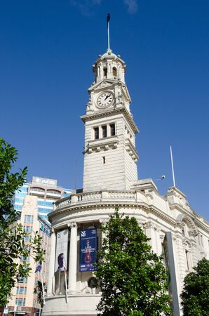 nz: AUCKLAND,NZ - MAY 29:Auckland Town Hall on May 29 2013. The Town Hall and its surrounding context is highly protected as a Category A heritage place in the citys district plan.