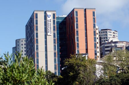 qs: AUCKLAND - MAY 29:University of Auckland on May 29 2013.Its the largest university in the country, and was ranked 82nd worldwide in the 2011 QS World University Rankings. Editorial