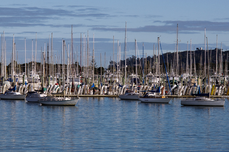 successor: AUCKLAND, NZ - JUNE 02:Boats mooring in Westhaven Marina on June 02 2013.Its owned by Auckland Council, as successor to the Auckland City Council, which bought it from Ports of Auckland in 2004 for NZ 46 million.