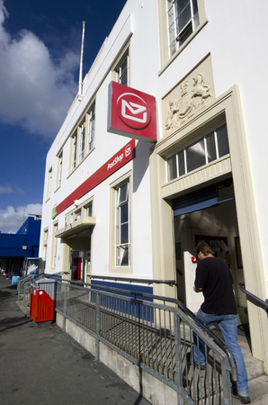 nz: KAITAIA, NZ - JUNE 21:Kaitaia Post Office on June 21 2013.The New Zealand Post Office entered the 20th century as a burgeoning government department with over 1,700 branches. Editorial