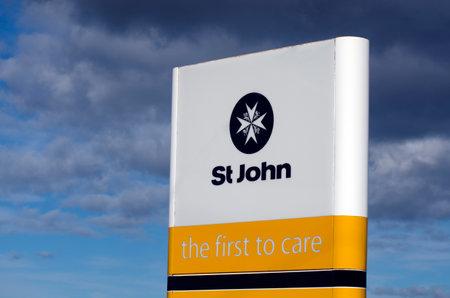 ファンガレイ、ニュージーランド - 7 月 28:St 2013 年 7 月 28 日にニュージーランドのジョン。医療救急、1877 年にイギリスに設立された救急車サービス