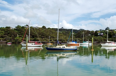 new entry: OPUA, NZ - DEC 12:Opua marina on Dec 12 2013.Its New Zealands northernmost port of entry for overseas vessels and a Customs and Ministry of Agriculture and Fisheries (MAF) Place of First Arrival. Editorial