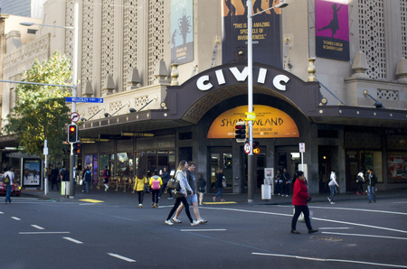 atmospheric: AUCKLAND - MAY 27 2014:Auckland Civic Theatre.Its one of the only seven of its style (Atmospheric theatre) remaining in the world.