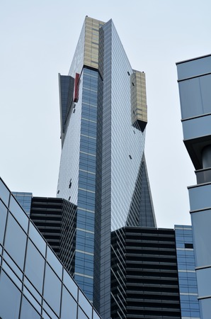 measured: MELBOURNE - APR 11 2014:Eureka Tower, In 2006 It was the worlds tallest residential tower when measured to its highest floor.