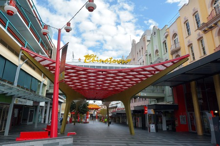 fortitude: BRISBANE, AUS - SEP 25 2014:Chinatown Brisbane, Queensland Australia.Chinatown in Brisbanes Fortitude Valley is a popular location for food, markets and entertainment.