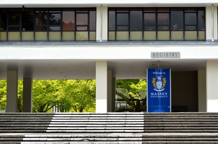 new medicine: PALMERSTON NORTH, NZL - NOV 29  2014:Massey University. Its the only university in New Zealand offering degrees in aviation, dispute resolution, veterinary medicine and nanoscience. Editorial