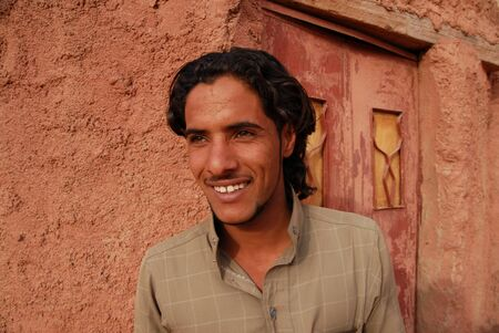 15 18: WADI RUM-NOV 10:Young Jordanian man in Wadi Rum,Jordan on November 10 2007.The Jordanian Parliament increased the legal age of marriage to 18 for both boys and girls from 16 for boys and 15 for girls