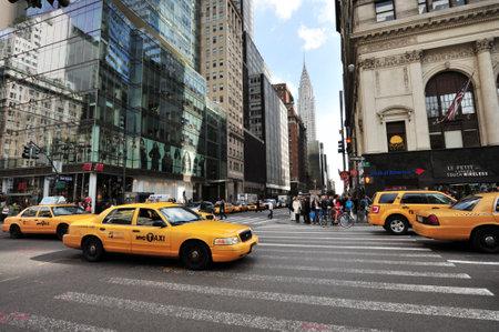 크라이슬러 빌딩 맨하탄 뉴욕, 미국입니다. 에디토리얼
