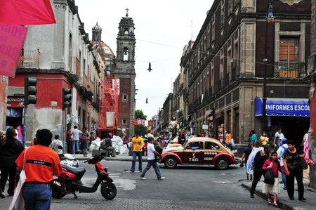 メキシコ シティ-2010 年 2 月 23 日: メキシコ人メキシコ市、Mexico.Mexico 市では最大の都市、メキシコの政治、文化、教育、金融センター。