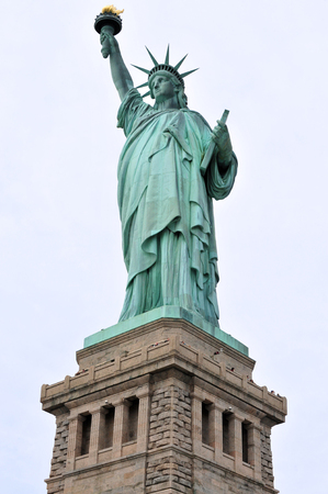 american revolution: The Statue of liberty Manhattan, New York, USA.